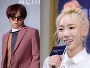 """"""" Sốt """"  với tin đồn trưởng nhóm SNSD hẹn hò G-Dragon"""