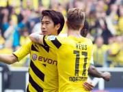 Bóng đá - Reus, Kagawa phối hợp đỉnh cao top 5 Bundesliga V10