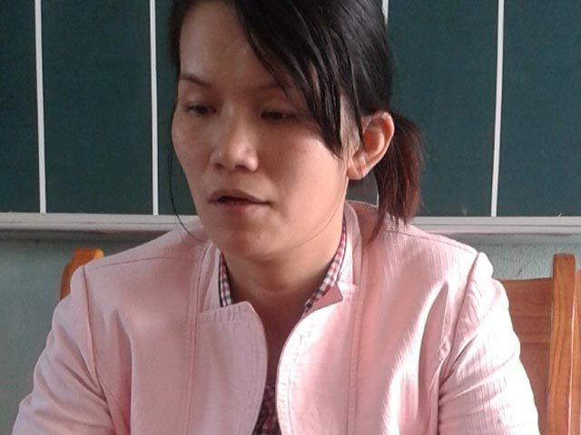 Cô giáo Thảo tường trình vụ đánh bầm mông 10 học sinh