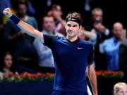 Thể thao - Tin thể thao HOT 30/10: Federer tri ân khán giả nhà