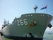 Tin tức trong ngày - Tàu Hải quân Australia đã đến Đà Nẵng