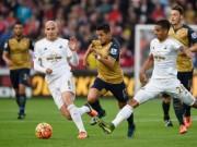 "Bóng đá - Swansea – Arsenal: Hiệp 2 ""tan nát"""