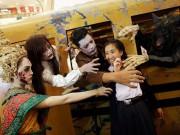 Không khí ma quái trong lễ hội Halloween trên khắp TG