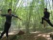 Huỳnh Anh khoe võ thuật đẹp mắt trong rừng trúc