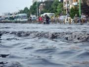 Tin tức Việt Nam - TP.HCM: Bắt đầu 3 năm đào đường chống ngập