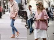 Thời trang - Đã đến lúc diện áo len thay cho áo khoác