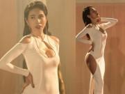 Thời trang - Thủy Tiên phản pháo về chiếc váy hở bạo trong MV