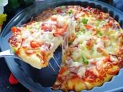 Ẩm thực - Pizza tôm ngon khó cưỡng