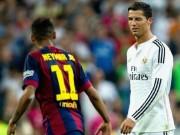 "Bóng đá - Ronaldo, Neymar phô diễn bản năng ""sát thủ"" V10 Liga"