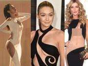 Thời trang - 16 bộ đầm của sao ngoại táo bạo hơn váy Thủy Tiên