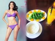 Làm đẹp - Bất ngờ với chế độ ăn giữ dáng của hoa hậu Phạm Hương