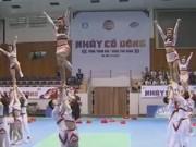 Thể thao - Nhảy cổ động: Sân chơi mới lạ cho sinh viên Việt