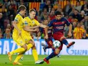 """Bóng đá - Barca – BATE Borisov: 2 cầu thủ gây đủ """"đau thương"""""""