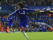 """Bóng đá - Chelsea: Willian từ kẻ bỏ đi thành """"Đấng cứu thế"""""""