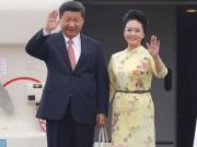 Hình ảnh đầu tiên của Chủ tịch TQ Tập Cận Bình tại Hà Nội