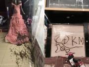 Bạn trẻ - Cuộc sống - Cửa hàng áo cưới bị ném mắm tôm vì… ghen tị