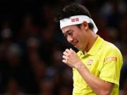 Thể thao - Paris Masters ngày 4: Nishikori bỏ cuộc vì chấn thương