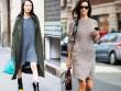 Mùa thu mặc đẹp với váy bất đối xứng