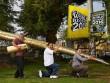 """""""Choáng"""" với chiếc bút bi lớn nhất thế giới"""