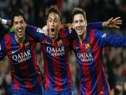 Bóng đá - Suarez - Neymar thăng hoa và mối lo mang tên Messi