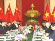 Hội đàm cấp cao duy trì đại cục quan hệ Việt - Trung