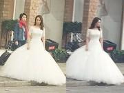 """""""Nữ hoàng cảnh nóng"""" Song Ji Hyo làm cô dâu xứ Trung"""