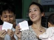 Thế giới - Ảnh: Toàn cảnh cuộc bầu cử lịch sử tại Myanmar