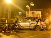 Vợ tài xế taxi có mặt trên xe lúc gây tai nạn liên hoàn