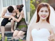 Bạn trẻ - Cuộc sống - Ảnh cưới nóng bỏng của hoa khôi sinh viên Hà Nội