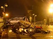 Khởi tố vụ taxi gây TNGT liên hoàn trên cầu vượt Thái Hà
