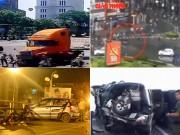 """Tin tức trong ngày - Video: """"Xe điên"""" gây hàng loạt vụ tai nạn thảm khốc"""