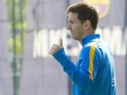 Các giải bóng đá khác - Tin HOT tối 10/11: Messi có thể đá El Clasico