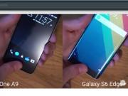 One A9 và Galaxy S6 Edge Plus  đua  tốc độ cảm biến dấu vân tay