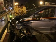 Lái xe taxi đã uống rượu trước khi đâm loạn xạ trên cầu vượt