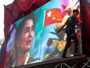 Thế giới - Không thành tổng thống Myanmar, bà Suu Kyi vẫn lãnh đạo đất nước