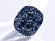 Thế giới - Viên kim cương Mặt trăng Xanh giá kỷ lục 48,7 triệu USD