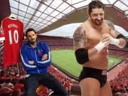 """Bóng đá - Đô vật bị tát tới Old Trafford """"tính sổ"""" với Rooney"""