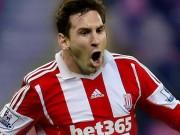"""Bóng đá - Barca khó vô địch NHA, Messi """"tắt điện"""" trước Stoke"""