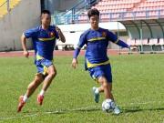 """Bóng đá - U21 Việt Nam """"luyện công"""" chờ so tài U21 Thái Lan"""