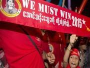 Thế giới - Myanmar: Bà Suu Kyi chính thức chiến thắng vang dội