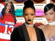 """Làm đẹp - Tuyển tập màu son đẹp và """"độc"""" của Rihanna"""