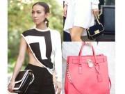 Túi - bóp -Thắt lưng - Bóc giá bộ sưu tập túi hiệu của nữ MC 3 con Huyền Ny