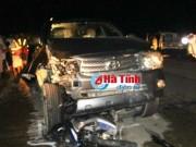Tin tức trong ngày - Xe Fortuner gây tai nạn liên hoàn, 5 người thương vong