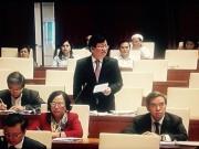 Tin tức Việt Nam - Bộ trưởng Bộ Xây dựng báo cáo Quốc hội vụ 8B Lê Trực