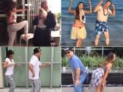 Bạn trẻ - Cuộc sống - Clip: Bố xì tin nhảy cùng con gái cực bá đạo