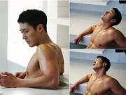 U40 So Ji Sub khoe thân hình vạm vỡ trong bồn tắm