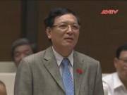 Video An ninh - Tích hợp môn Sử: Bộ trưởng Bộ Giáo dục trả lời vòng vo
