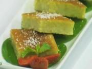 Ẩm thực - Cách làm bánh dừa Malaysia thơm nồng, mềm mịn