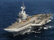 Điểm nóng - Sức mạnh tàu sân bay hạt nhân Pháp điều đi tiêu diệt IS