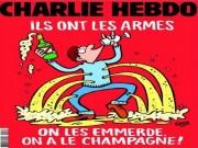 Thế giới - Charlie Hebdo vẽ tranh biếm đầu tiên sau vụ khủng bố Pháp